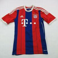 FC Bayern Munchen Soccer Jersey Shirt Adidas Small Short Sleeve