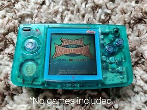 SNK Neo Geo Pocket Color Slim Crystal Blue *Missing AA battery cover*