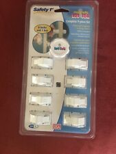 Safety 1st 9 Piece Magnetic Tot Loc Set Cabinet Locks Baby Proofing. New
