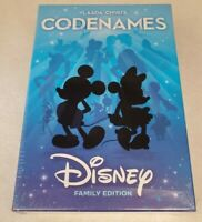 Codenames Disney Family Edition Card Game - USAopoly Complete Sealed