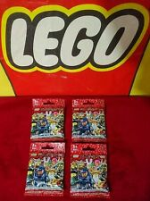 """4 LEGO Minifigures """"SERIES 7"""" Rare 8831 New Rare Unopened 2012 Factory Sealed"""
