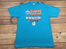 VTG 90's 1994 Mendez Miami Dolphins Super Bowl Bound T-Shirt M Football NFL