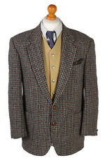 Vintage Houndstooth Peek & coppenberg 90s Harris Tweed Chaqueta Multi L-HT2069