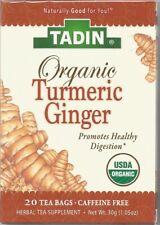 Lifestyle Awareness Organic Turmeric Ginger Healthy Digestion 20 Tea Bags