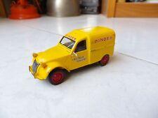 Citroen 2CV Pinder Jean Richard Cirque Altaya 1/43 miniature