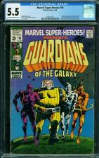 Marvel Super-Heroes #18 CGC 5.5 1969 1st Guardians of the Galaxy! L9 212 cm