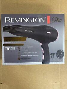 Remington AC2015 Pro Pearl Ceramic Hair Dryer Black/PINK