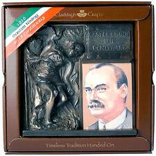1916 CENTENARIO Bronzo CU chulainn con James Connolly-Isola TURF Crafts