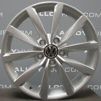 "GENUINE VOLKSWAGEN GOLF MK7 TRONIC 17""INCH SILVER ALLOY WHEEL X1 2013-16"