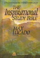 Inspirational Study Bible Holy Bible New King James Version  - by Lucado