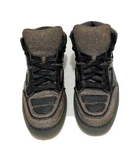 Alejandro Ingelmo TRON 21200-S009F-090 MEN's 7M Glitter High Top Sneakers