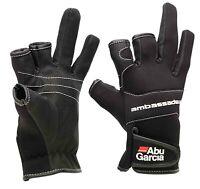 Abu Garcia New Stretch Neoprene Waterproof Gloves Coarse Sea Fishing