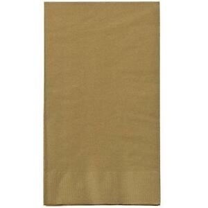 Gold Guest Towels 16 Count