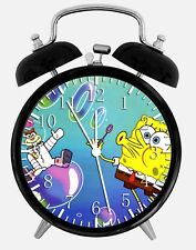 "SpongeBob SquarePants Alarm Desk Clock 3.75"" Home or Office Decor W112 Nice Gift"