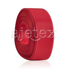 """10 Meters 1""""25mm Grosgrain Ribbon Bows Wedding Craft Decoration Poppy Red OBS"""