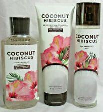 Bath & Body Works Coconut Hibiscus Mist Shower Gel Body Cream You Choose One