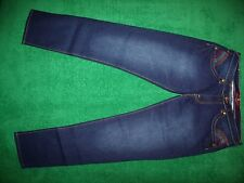 Juniors baby phat cotton blend embroidered jeans size 17
