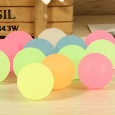 10Pcs 22mm Luminous High Bounce Ball Glow in the Dark Noctilucent Ball Party New