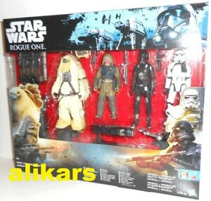 4-Pack Rebel Commando Pao Moroff Death Trooper Stormtrooper Rogue One, Star Wars
