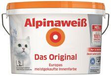 Alpina Wandfarbe Weiß Das Original Spritzfrei matt 1L konservierungsmittelfrei
