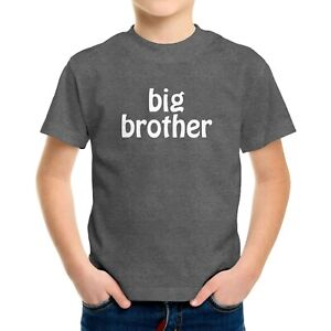 big brother Toddler Kids Boy Tee Youth T-Shirt Gift Cute Brother shirts