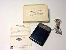 Vintage Panasonic Foot Switch Pedal Model RP-922 Japan