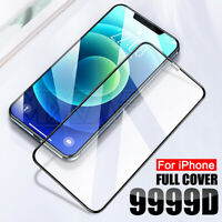 3 Packs Screen Protector Tempered Glass Full Cover For iPhone 12 mini 11 Pro Max