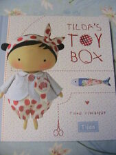TILDA'S TOY BOX~Tone Finnanger whimsical 137pp cloth art doll patterns book