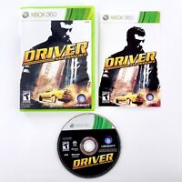 Driver: San Francisco (Microsoft Xbox 360, 2011) Complete Tested & Works