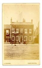 Ivy House Photographic Studio on cdv by J Cooper of Ivy House Darlington