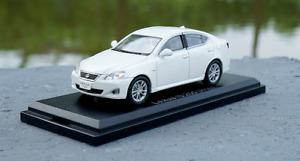 1/43 LEXUS Original manufacturer,alloy car model LEXUS IS250 Collect gifts
