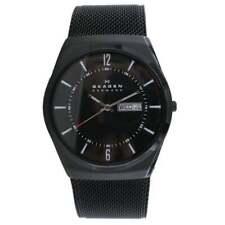 Skagen Herren Uhr Armbanduhr Titan Edelstahl SKW6006