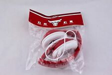 CHICAGO BULLS ZTE WIRED RED HEADPHONES – NEW