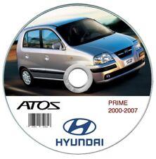 Hyundai Atos Prime 2000-2007 manuale officina workshop manual
