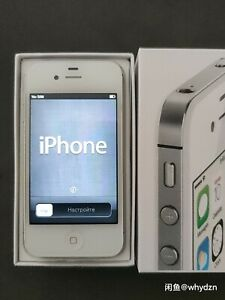 Unlocked Apple iPhone 4s - 16GB Black White iOS 6.1.3 3G WIFI Smartphone sealed