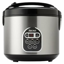 Aroma 20-Cup (Cooked)  (10-Cup UNCOOKED) Digital Rice Cooker and Food Steamer...