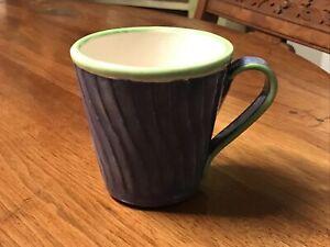 Fioriware Mug Zanesville Ohio Vintage American Pottery