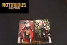 Mighty Thor 1 2 Complete Cosplay Variant Comic Lot Run Set Marvel Collection
