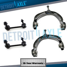 4pc Upper Control Arms w/ Ball Joints Sway Bar End Links for 11-15 Dodge Durango
