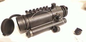 PK-01 VM Collimator Rifle Scope CRS Red Dot Picatinny rail Weaver 1 MOA