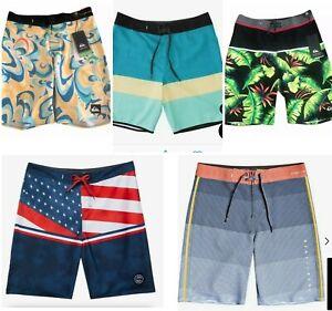"""2020 QUIKSILVER BOY'S Board Shorts Swim Trunk SIZE - 10-20  WAIST 25""""-30"""" 🎈"""