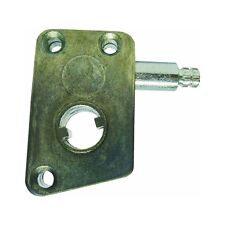 """Zinc, Mobile Home Awning Window Side Mount Operator, Non-Handed, 1/2"""" Round Hole"""