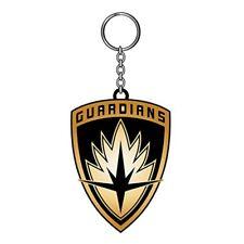 Guardians of The Galaxy Marvel Comics Vol. 2 Logo Metal Shield Keychain Keyring