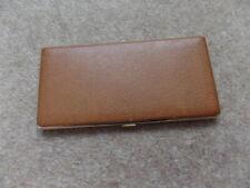 Rare Vintage Collectable British Cigarette Pocket Case 1980 - size 17cm x 8.5cm