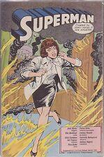 SUPERMAN SUPPLEMENTO AL NUMERO 2 DI CORTO MALTESE FEBBRAIO 1989