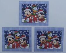 PK 3 MICKEY & FRIENDS EMBELLISHMENT TOPPERS FOR CARDS