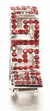 Hang Accessories Key Holder Red Bling Holds Keys Inside Purse 2 1/2""