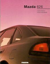 Mazda 626 1992-94 UK Market Sales Brochure Saloon Hatchback 1.8 2.0 GLX 2.5 GT