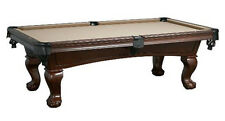 Lincoln 7' Pool Table with Antique Walnut Finish FREE Shipping