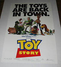 TOY STORY ONE SHEET DS MOVIE POSTER WALT DISNEY PIXAR